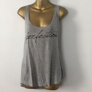 forever 21 perfection graphic tank top size large